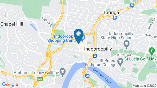 Luxurious 3 Bedroom Home In Indooroopilly Close To CBD Map