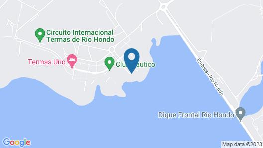 Hotel Marina del Faro Resort Map