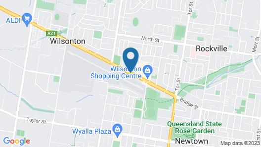 Altitude Motel Apartments Map