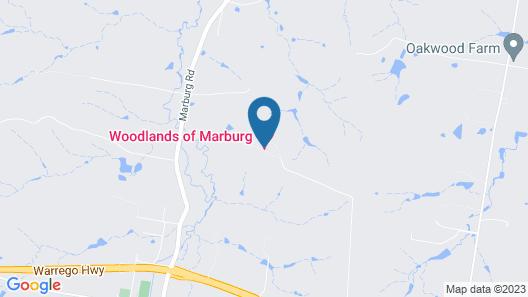 Woodlands of Marburg Map