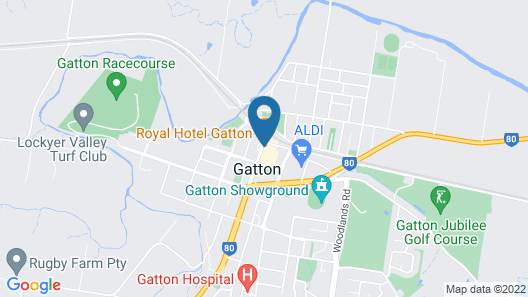 Royal Hotel Gatton Map