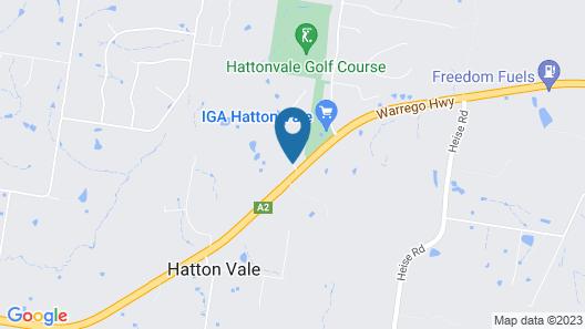 Hatton Vale Motel Map