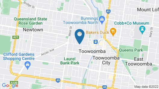 Vacy Hall Toowoomba's Grand Boutique Hotel Map