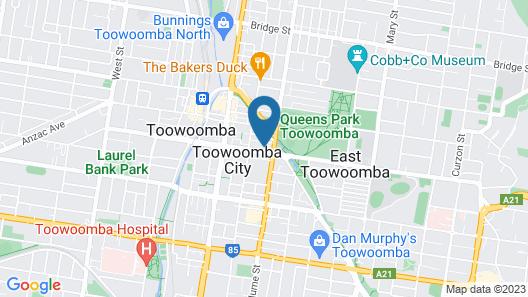 Quest Toowoomba Map