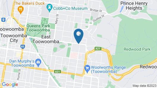 Whiteoaks Motel Map