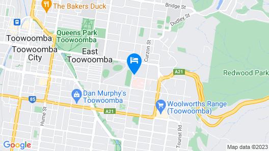 The Arbour Boutique Apartments Map