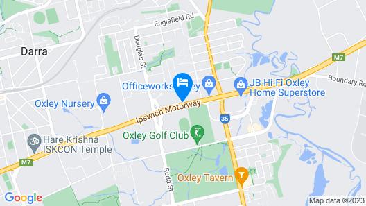Oxley Motor Inn Map