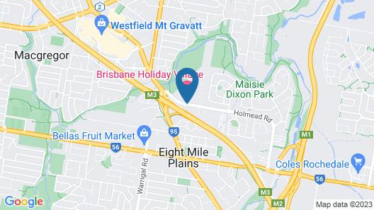 Brisbane Holiday Village Map