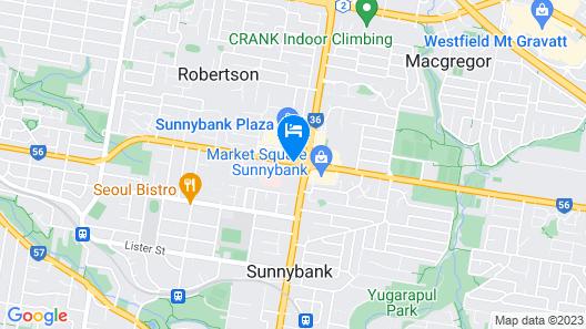 Sunnybank Hotel Map