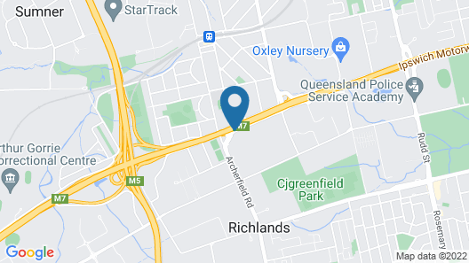 Darra Motel and Conference Centre Map