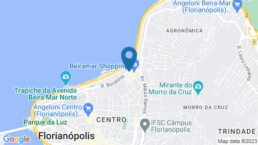 Blue Tree Premium Florianopolis Map