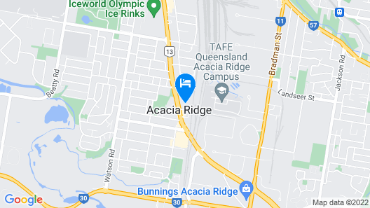 Acacia Ridge Hotel Motel Map