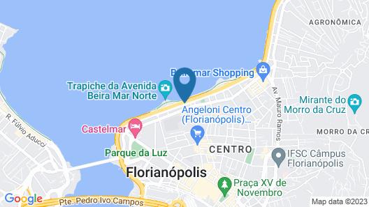 Novotel Florianópolis Map