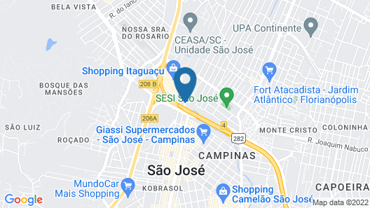 Ibis Sao Jose Map