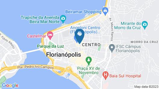 Hotel Porto da Ilha Map