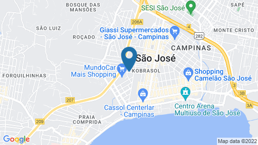 Hotel Kennedy Executive Map