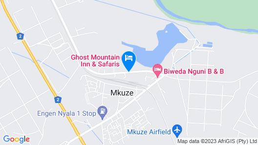Ghost Mountain Inn Map