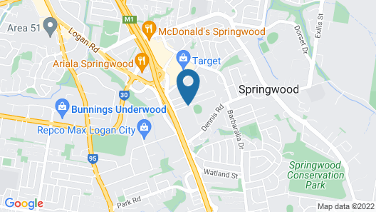 Springwood Tower Apartment Hotel Map