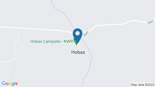 NWR Hobas Camp Map