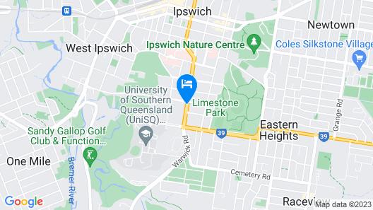 Best Western Ipswich Map