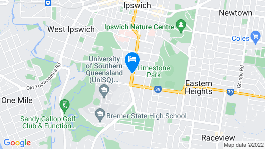 Quest Ipswich Serviced Apartments Map