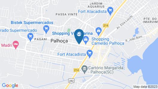 Slaviero Essential Palhoça Viacatarina Map
