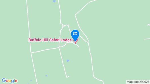 Buffalo Hill Safari Lodge Map