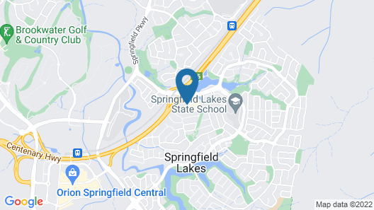 Springfield Lakes Boutique Hotel Map