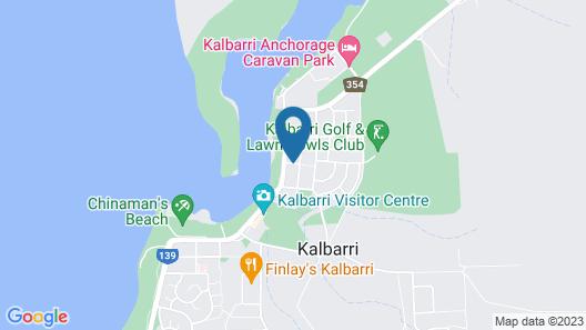 Kalbarri Reef Villas Map