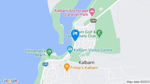 Kalbarri Seafront Villas Map