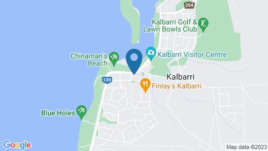 Kalbarri Sunset Villa Map