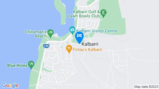 Kalbarri Edge Resort Map