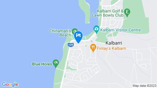 Pelican Shore Villas Map