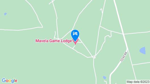 Mavela Game Lodge Map