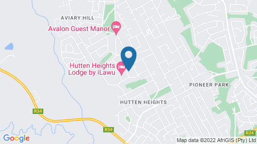 Luxury Heights Guesthouse Map