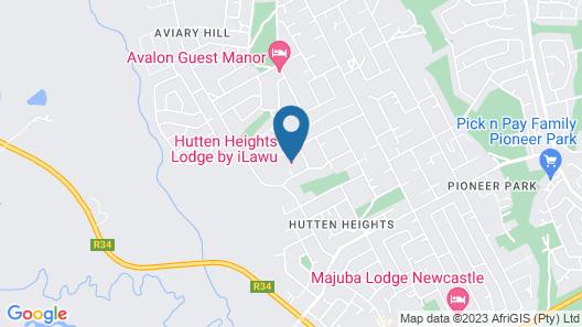 Hutten Heights Lodge Map