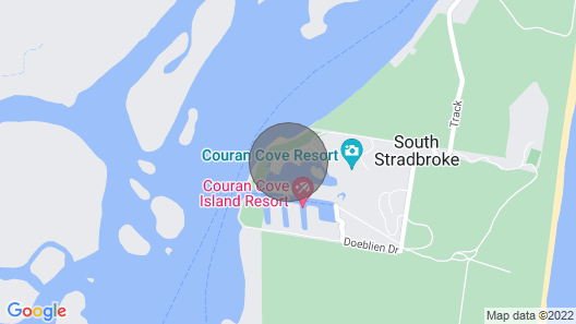 Beachfront Marina Lodge - South Stradbroke Island Map