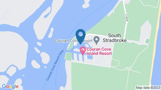 Couran Cove Island Resort Map