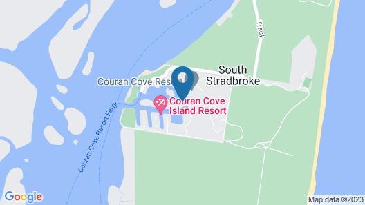 1bedroom Deluxe Waterfront Apartment Couran Cove Island Resort Map