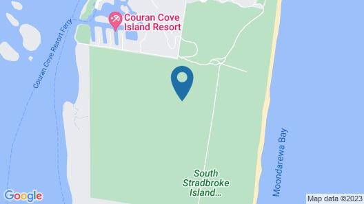 Charming Island Escape Gold Coast Map