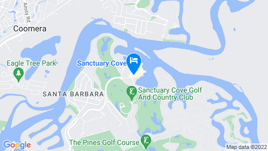 Sanctuary Cove Villas Map