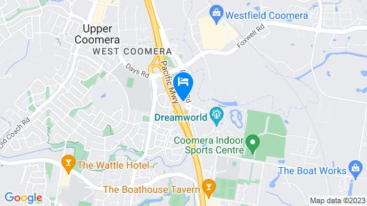 Coomera Motor Inn Map
