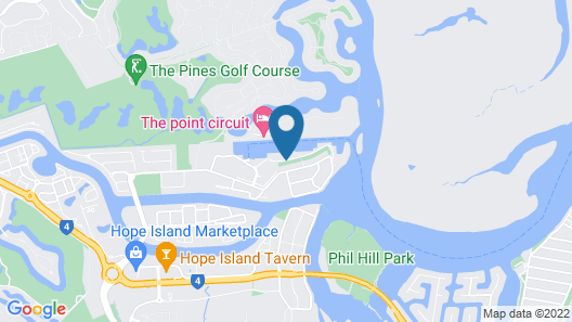 Ramada by Wyndham Hope Harbour Map