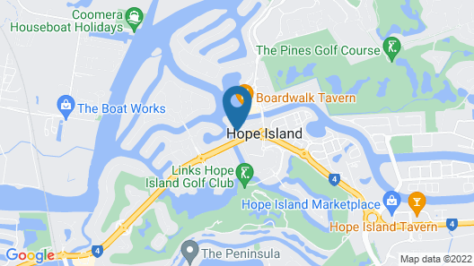The Peninsula at Hope Island Map