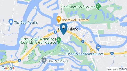 Azzura Greens Resort Map