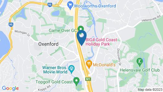 BIG4 Gold Coast Holiday Park Map