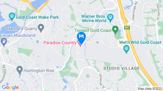 Paradise Country Farmstay Map