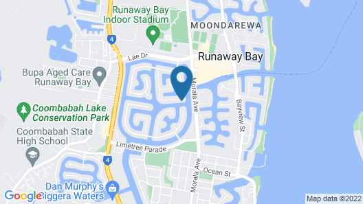 Amaroo On The Gold Coast Map