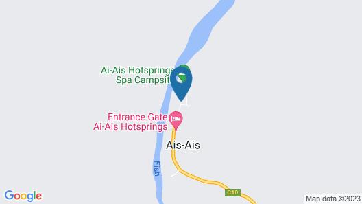 NWR /Ai-/Ais Hotsprings Spa Map