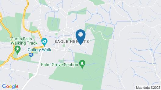 Tamborine Mountain Bed and Breakfast Map